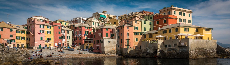 boccadasse genoa italy, cultural tours