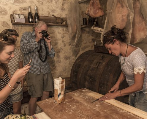 wine and food tours in Italy, pasta making course in Umbria