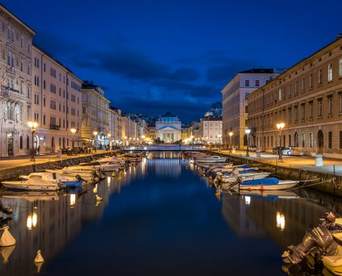 cultural itineraries in Italy, Trieste friaul