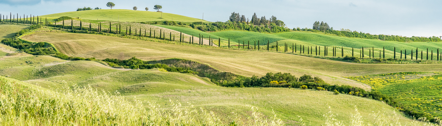 the crete senesi, hiking in tuscany