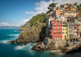 tour operator in Italy, Cinque Terre tours. view of Riomaggiore.