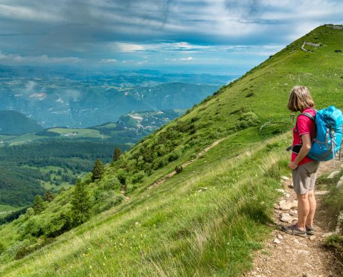 Monte Baldo, Valpolicella and Garda Lake, organized hiking tours with a view