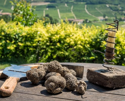 food experiences in Italy - black summer truffles