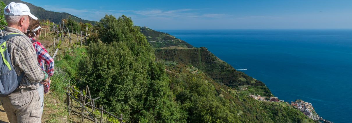 Hiking Cinque Terre National Park, Liguria, Italy