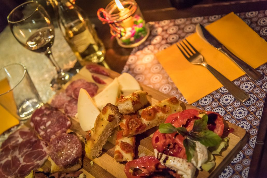 Food & wine tasting in Umbria