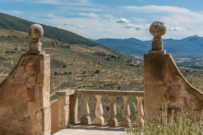 Spectacular landscapes in Umbria- Italy