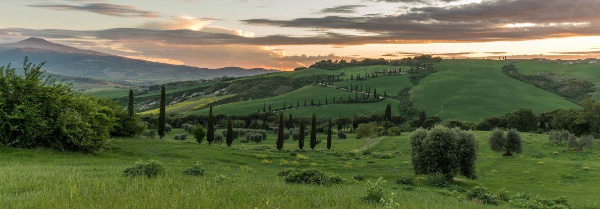 Tuscany amazing landscapes