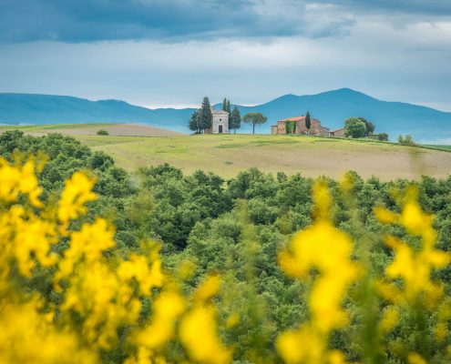 Orcia Valley UNESCO World Heritage Site, Southern Tuscany, Italy
