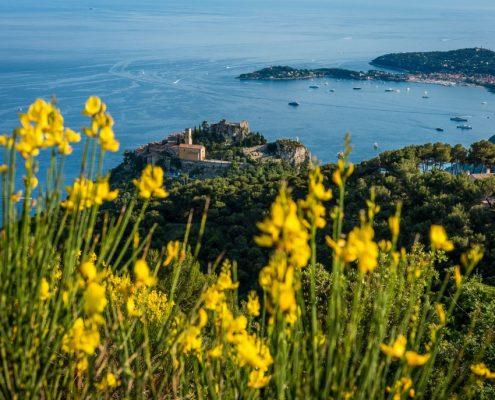 View of the Cotè d'Azur