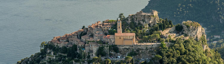 View of Eze village-France