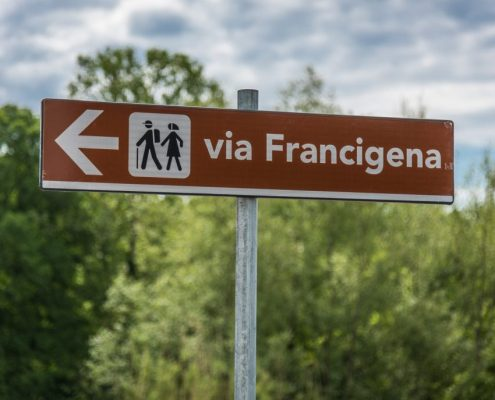 Pilgrimage on the via Francigena in Lunigiana- Italy