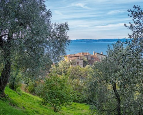 Old hamlet on Lake Garda, Veneto