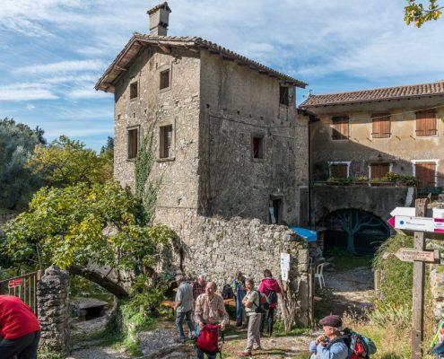 Old hamlet on Lake Garda, Veneto- Italy