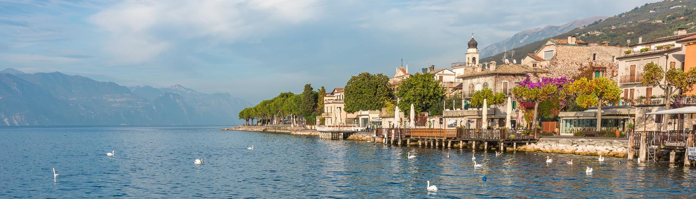 Hiking to Garda lake- Veneto- Italy