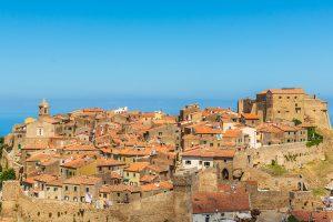 Castle in Giglio- Maremma-Italy