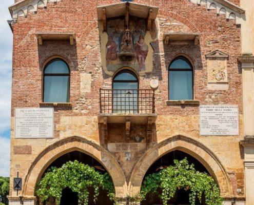Picturesque centre of Soave- Veneto- Italy