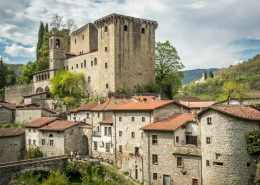 Fivizzano Castle in the Lunigiana- Italy