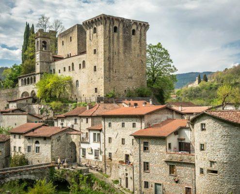 Fivizzano Castle in the Lunigiana- Italy
