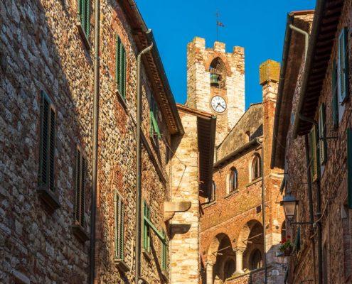 Suvereto in Maremma-Tuscany-Italy