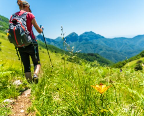 Hiking on the Apuan Alps - Lunigiana - Italy