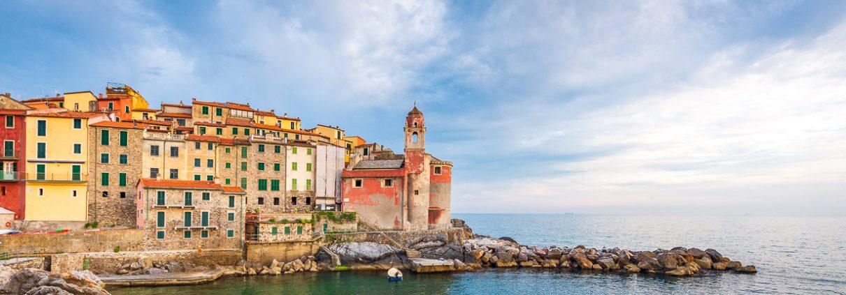 Liguria and Lunigiana landscapes- Italy