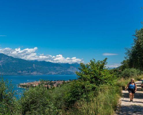 Hiking at Garda Lake- Veneto- Italy