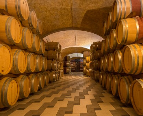Wine cellar in Valpolicella- Veneto