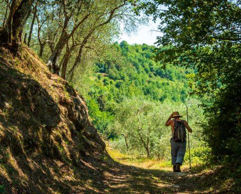 Pilgrimage in Lunigiana - Italy
