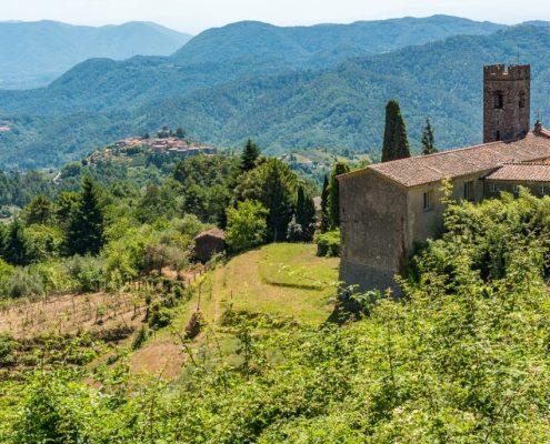 Spectacular landscapes in Lunigiana - Italy
