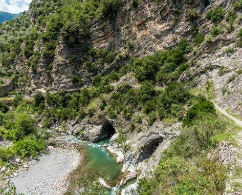 The Roja River- Liguria- Italy