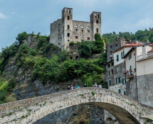 Dolceacqua in the ligurian Hinterland- Italy