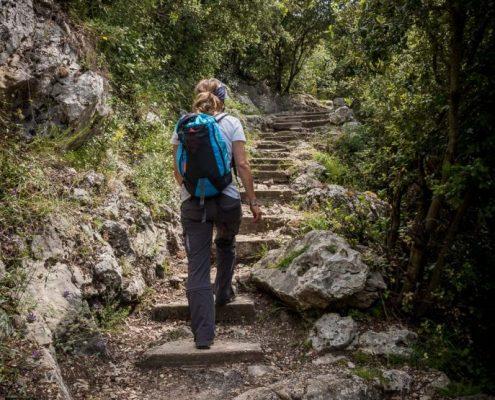 Hiking in Coté d'Azur- France
