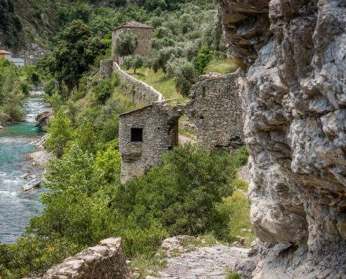 hiking trail in Breil- France