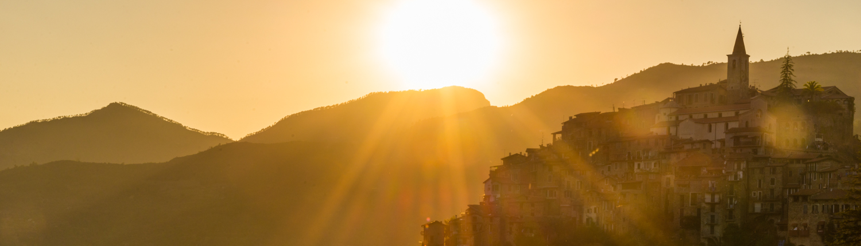 beautiful views- Apricale- Liguria- Italy