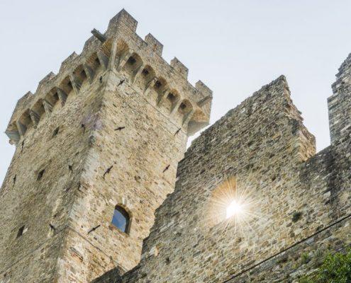 Fortress in Lunigiana - Toscana- Italy